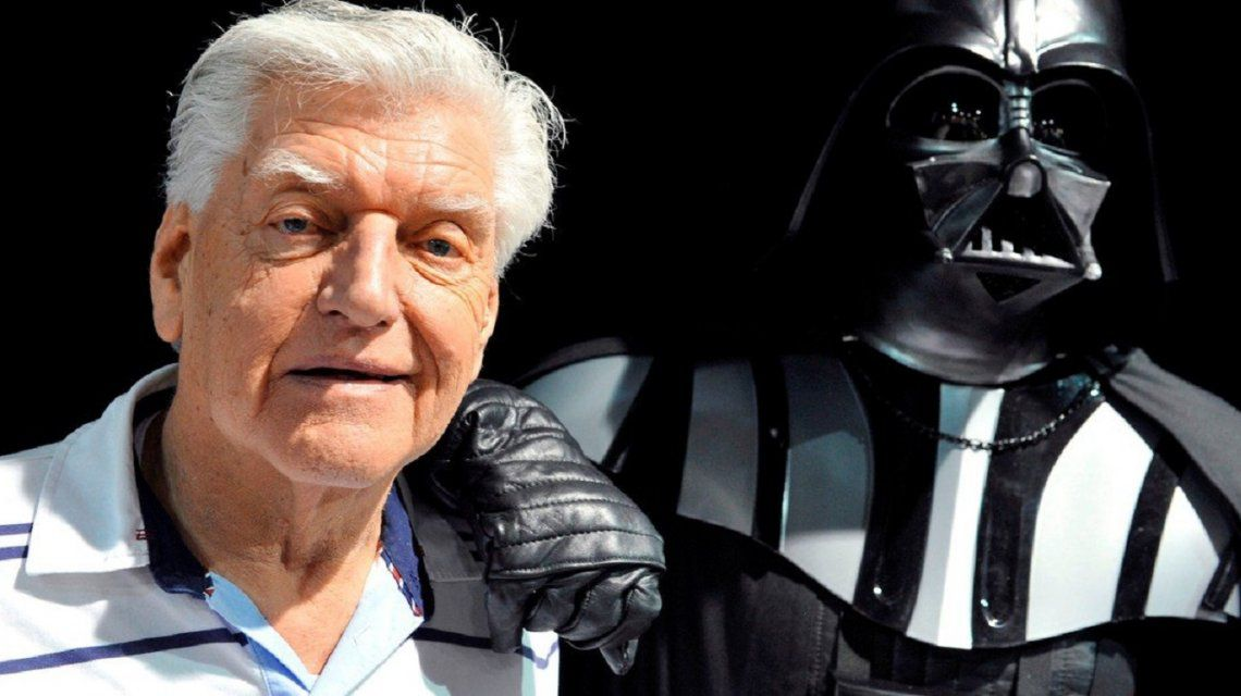 Murió Dave Prowse, el actor que interpretó a Darth Vader en Star Wars