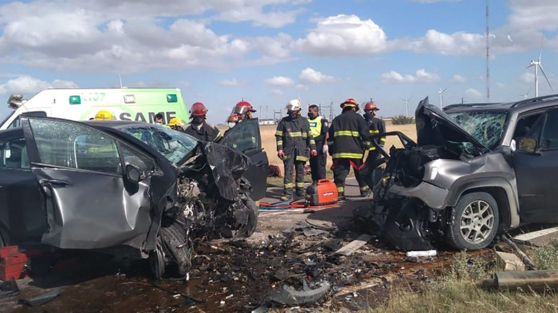 Trágico accidente en la ruta 3: cinco muertos