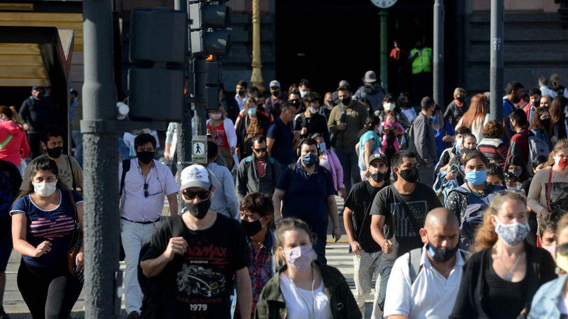 Coronavirus en Argentina: reportaron 9.196 nuevos casos y 113 muertos en las últimas 24 horas